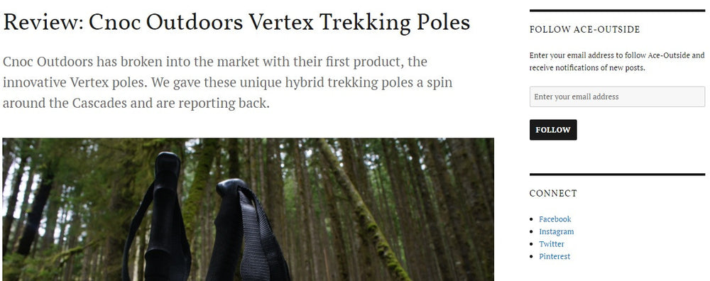 Review for the Vertex Carbon Poles by Ace-Outside