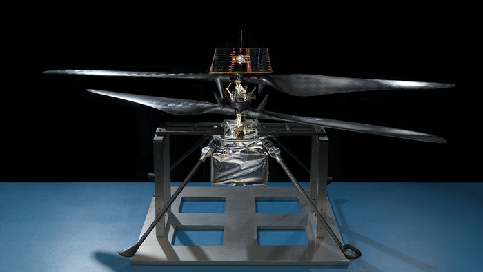 This image of the flight model of NASA's Mars Helicopter