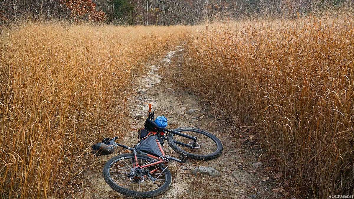 Bikepacking the North-South Trail