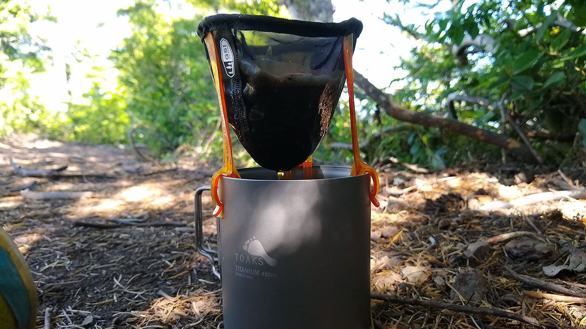 Ultralight Luxury Coffee: Or Homage To The Backpacking Cup
