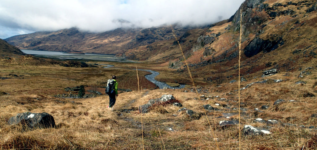 The goal of ultralight hiking