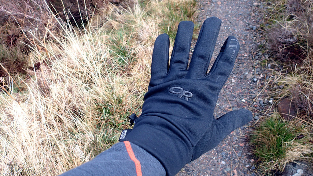 Light fleece gloves
