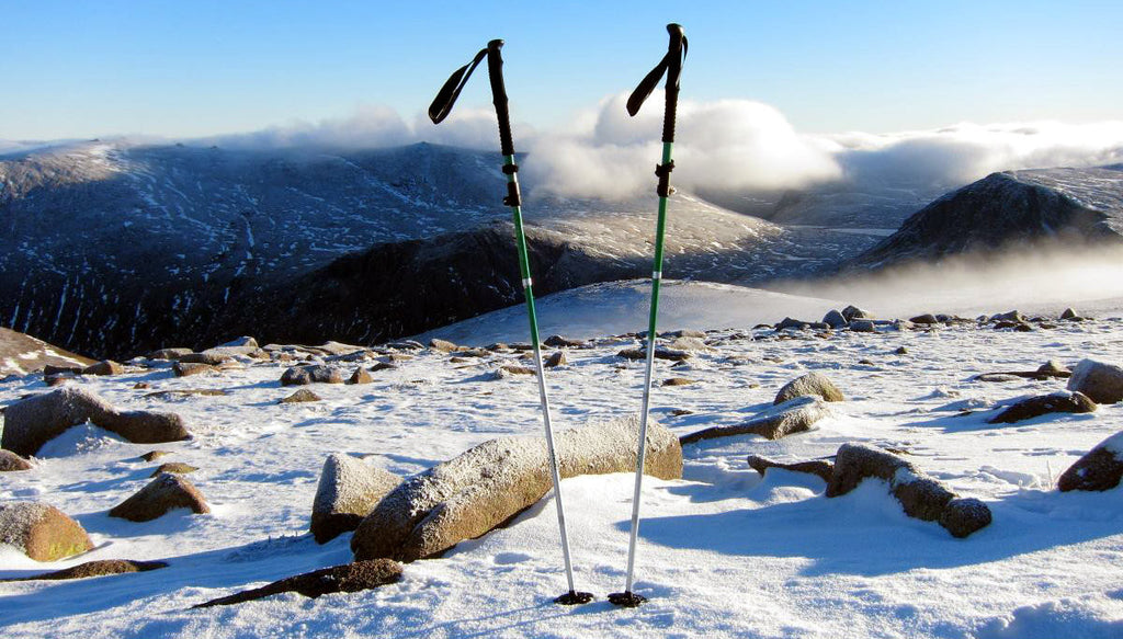 Vertex poles in Scotland, credit: Dan Bailey, UKHillwalking.com