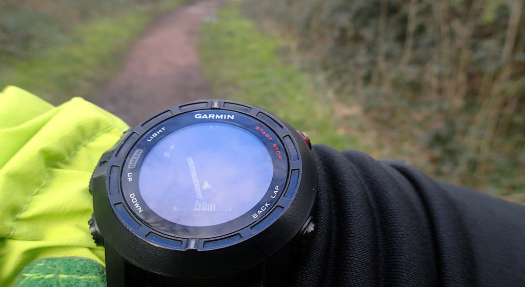 Using a GPS watch