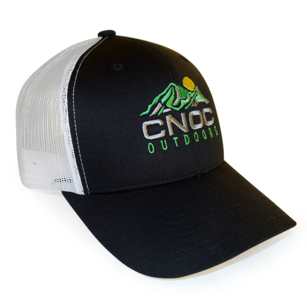 Cnoc Outdoors Black Trucker Hat