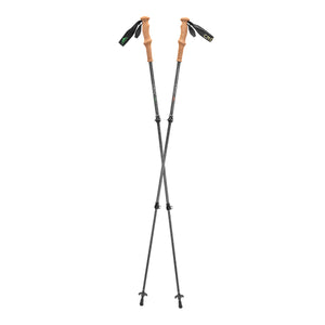 Cnoc Telescopic Trekking Poles, Cork Grip, Pair