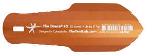 Deuce® Ultralight Trowel, #2 - Cnoc Outdoors