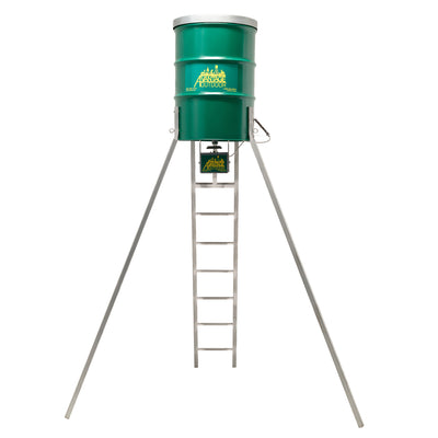 85 Gal. Leg Ladder Barrel Feeder
