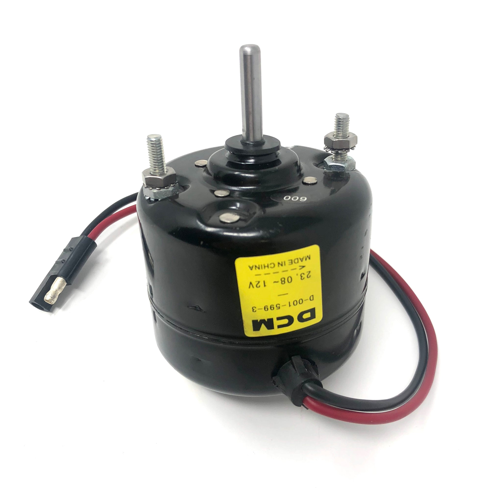 "DCM 12 Volt Sealed Motor 1/4"" Shaft"