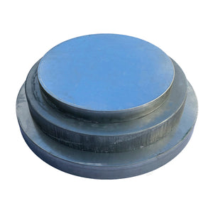 Galvanized Lid for Advantage Outdoor Barrel Feeders