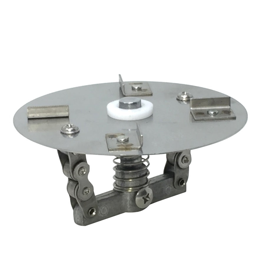 "THE-ELIMINATOR Round Scatter Plate With 1/4"" Shaft"