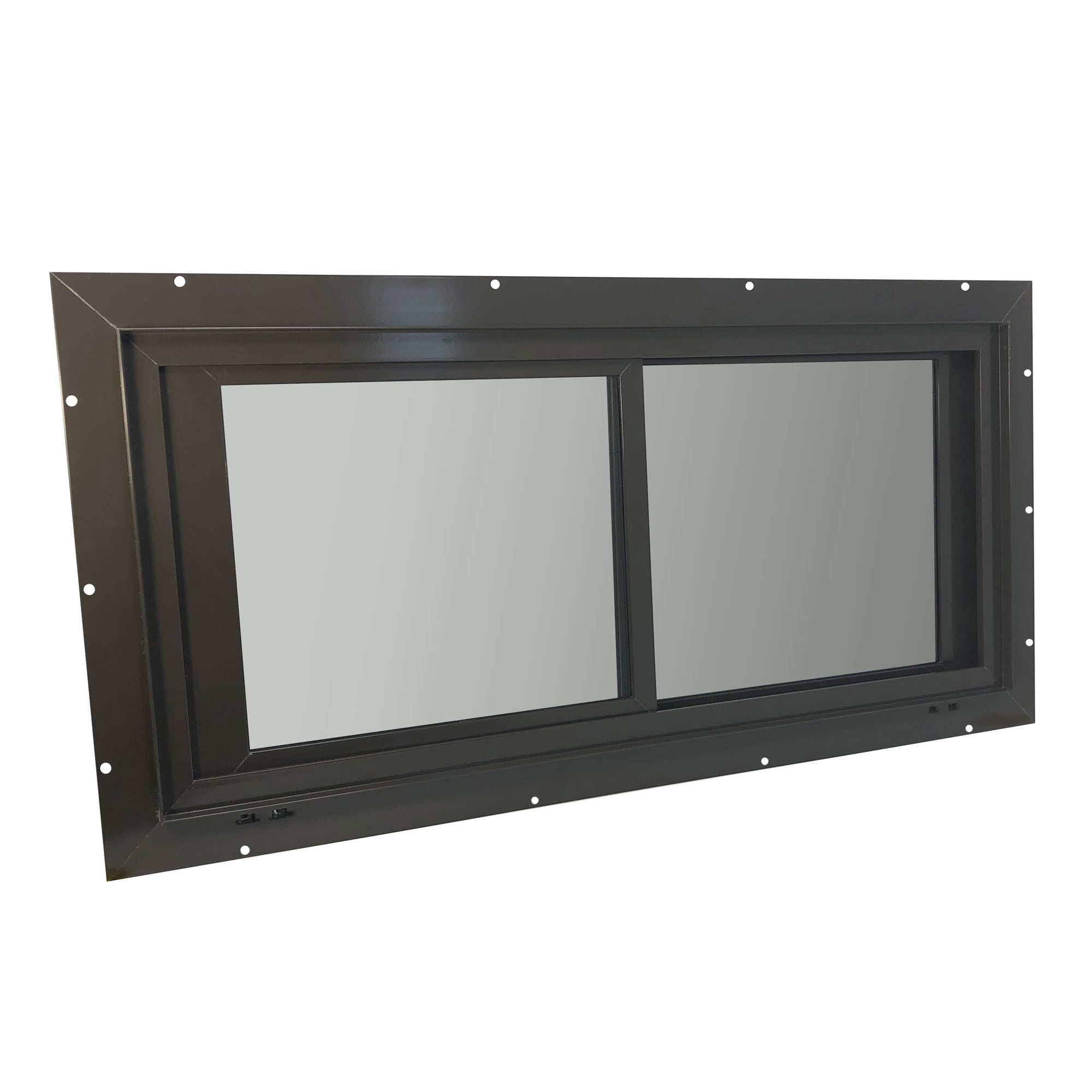 Glass Horizontal Sliding Deer Blind Window (Tinted)