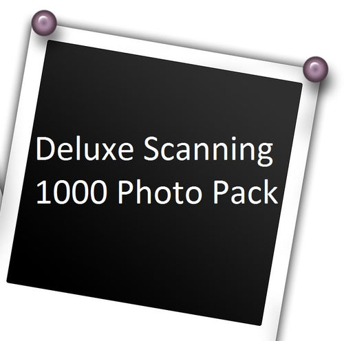 Deluxe Scanning: Up to 1,000 Photos w/ Free USB Stick!