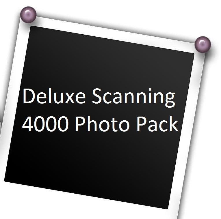 Deluxe Photo Scanning up to 4,000 photographs with Free USB Stick!