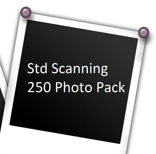 Photo Scanning: Up to 250 Photos w/ Free USB Stick!