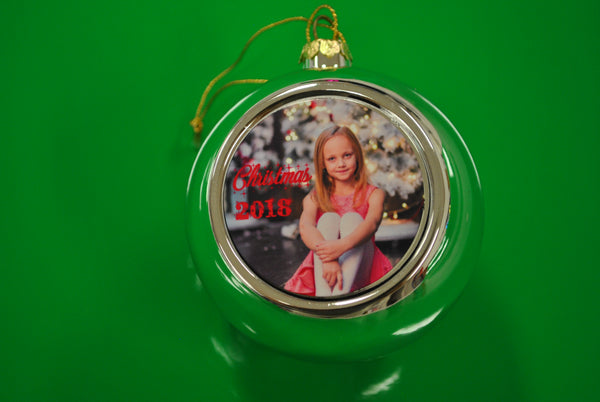 Christmas Decorations Baubles Personalised