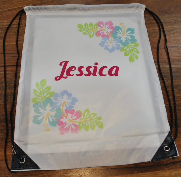 Personalised Library Bag / Sheet Bag / Kindy Bag / Gift Bag / Santa Sack / Shopping Bag / Dance Shoe Bag / Toy Collections / Swim Bag