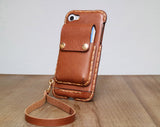 Bodybag IPhone 7 case leather IPhone accessory leather phone case bag IPhone 6 plus bag Smartphone bag mobile bag