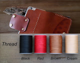 luxury leather iPhone 7 plus case wallet with long strap & card slot custom initials sleeve for women men leather iPhone 7 plus case wallet Brown