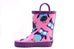 Purple Owls Rain Boots