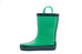 Evergreen & Green Rubber Rain Boots
