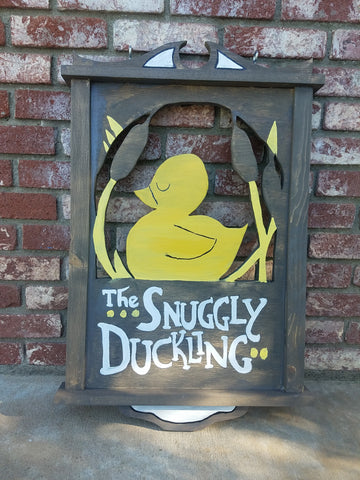 Snuggly Duckling Wood Sign