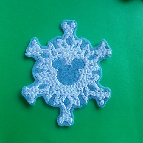 Mickey Snowflake Patch