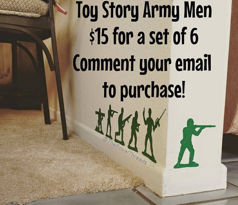 Army Men Decals