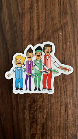 Dapper Boyz 4 Now Sticker