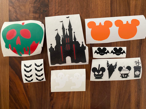 DIY Tumbler Stickers