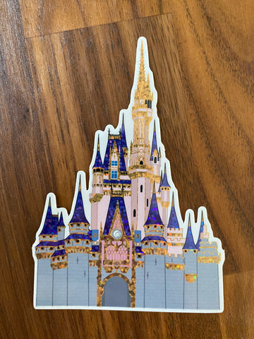 WDW Castle Sticker