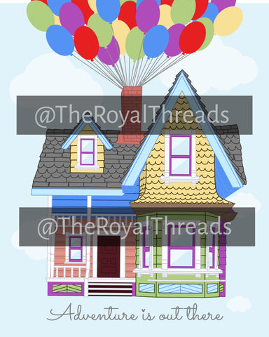 Up House Print