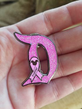 Breast Cancer Awareness D Pin