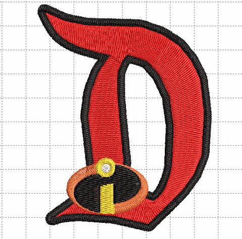 Incredibles D Patch