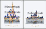 Disneyland & WDW Castle Prints
