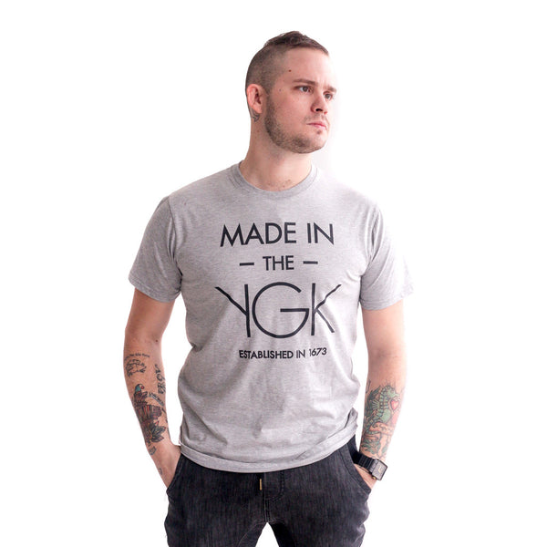 MADE IN THE YGK Men's Ring Spun Premium Tee - YGK Studios