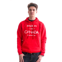 MADE IN THE CANADA Unisex Premium Hoodie - YGK Studios