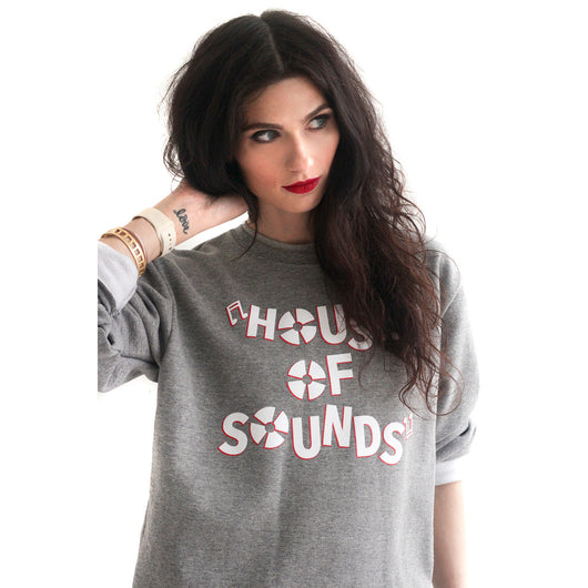 Vintage House of Sounds Unisex Premium Crewneck Sweatshirt - YGK Studios