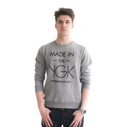 MADE IN THE YGK Unisex Premium Crewneck Sweatshirt - YGK Studios