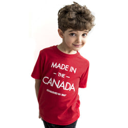 MADE IN THE CANADA Kid's Premium Fine Jersey Tee - YGK Studios