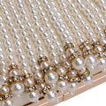 DIAMONDS AND PEARLS CLUTCH BAG - House of Pascal