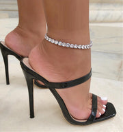 SNOW CRYSTAL ANKLET - House of Pascal