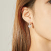 HEART TO HEART EARRINGS - House of Pascal