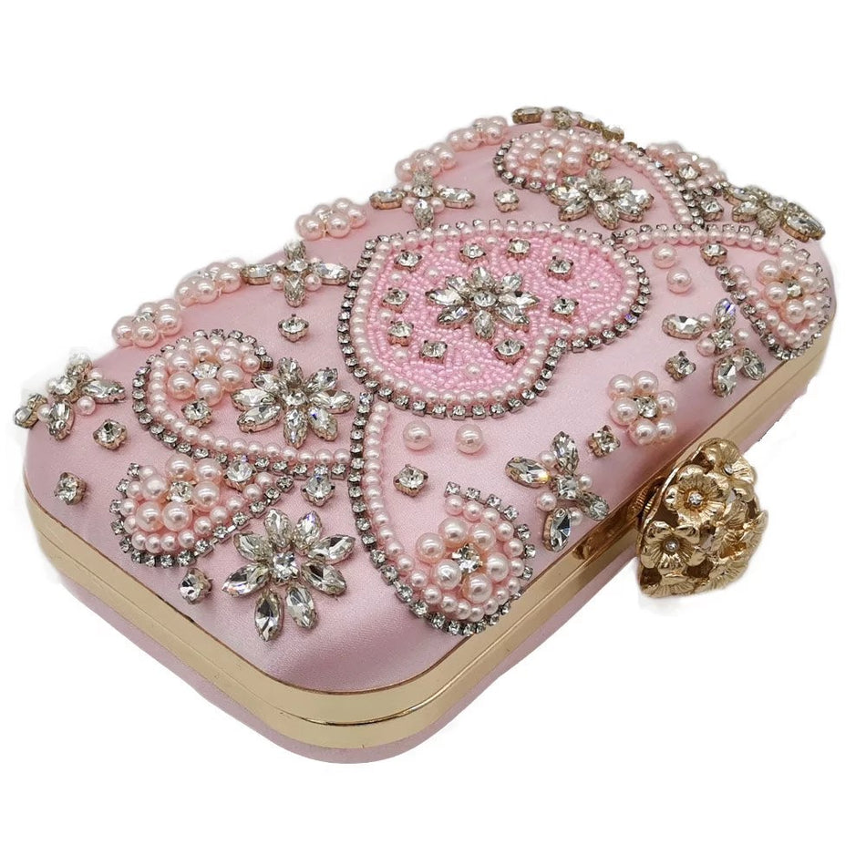 IN THE PINK CLUTCH BAG - House of Pascal