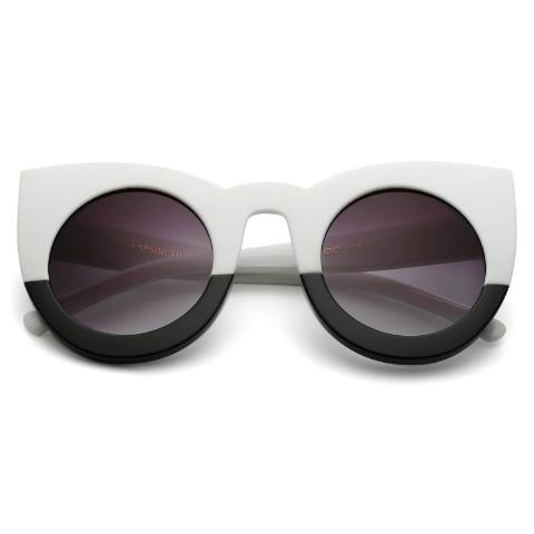 d6e29727145 IT DON T MATTER IF YOUR BLACK OR WHITE Cat Eye Stunna Sunglasses ...