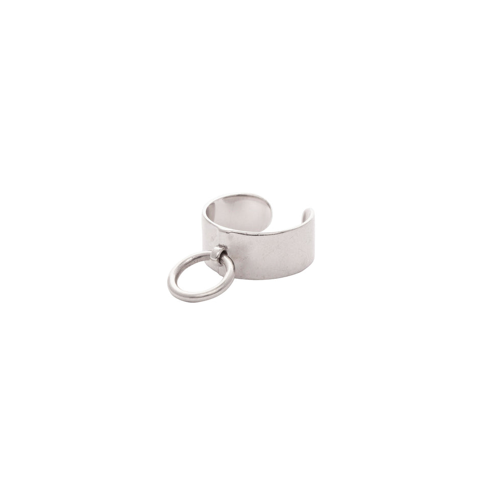 Keep My Circle Small Sterling Silver Ring