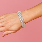 Crystal Luxe Sparkle Bracelet - House of Pascal