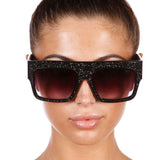 Glitterati Gemstone Embellished Sunglasses - House of Pascal