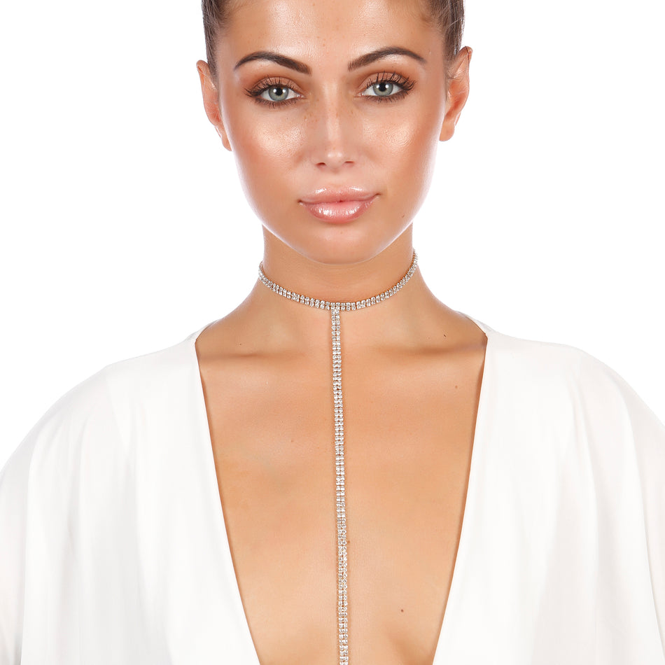 Crystal Maze Drop Choker - House of Pascal