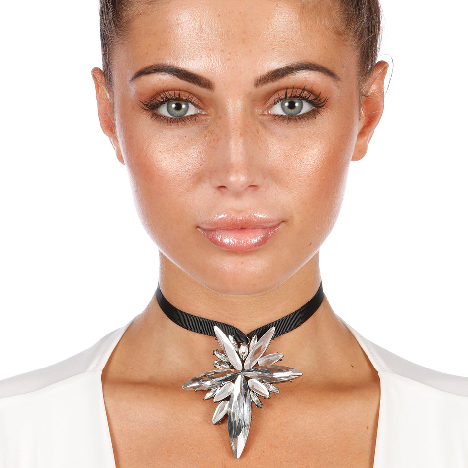 Supernova Gem Choker